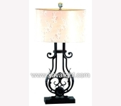 Desk & Table Lamps-9752-1T-BK