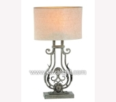 Desk & Table Lamps-9752-1T-WH