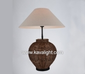 Desk & Table Lamps-9864-1T