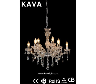 Pendant Lights-Salable Pendant Lights with Clear Glass and Crystal
