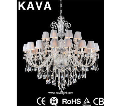 Pendant Lights-Modern Chandelier Crystal  Pendant Lights with Clear Glass and Crystal