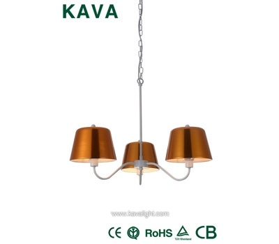 Pendant Lights-Newest gold shade Pendant Lights with Oygenated Bronze