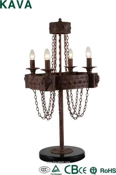 New Products-table lamp -Home decoration popular Loft antique country with  iron