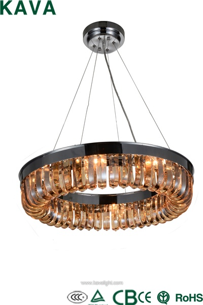 New Products-Vintage New products-Industrial Antique Restaurant Brass Classic long pendant  lamp with amber  glass