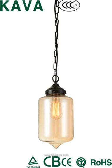 New Products-pendant  light -Newest restaurant Modern  hanging light  with iron  glass shade